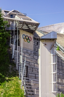 Opened in 2010, this hill and jump have been rebuilt 19 times dating back to 1910. Today it is one of the world's more modern ski jumps.