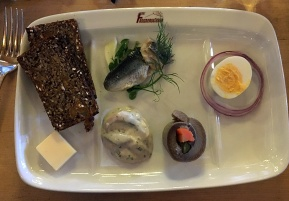 """Herring three ways"" as described by Tom Foltz."