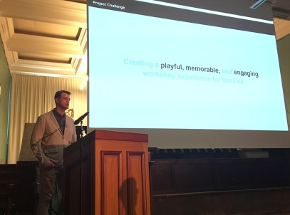 Steig Rundhaug presenting.